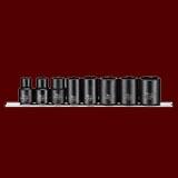 """9381  8件組 3/8""""(三分)通用規格氣動套筒組"""