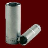 """M1206136-C  1/2""""(四分)公制六角長套筒"""