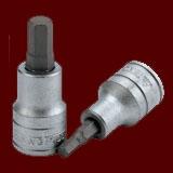 """M121505-C  1/2""""(四分)六角體S2起子頭套筒"""