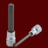 """M122505-C  1/2""""(四分)長六角體S2起子頭套筒"""