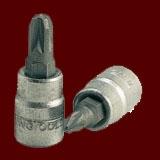 """M141601-C  1/4""""(二分)米字 S2起子頭套筒"""