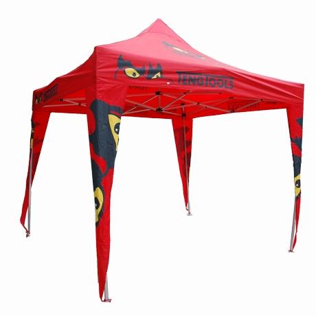 帐篷两秒收叠方法图解