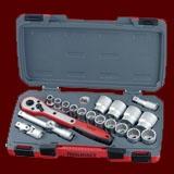 T1220AF  20件組 1/2''英制專業套筒工具組