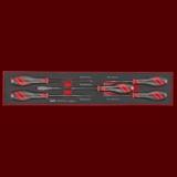 TEXMDTN 5支組 貫通螺絲起子組