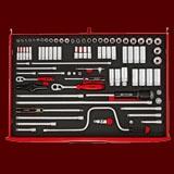 TTESK86  86件組 EVA套筒工具組