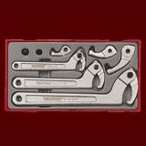 TTHP08   8件組 銷釘勾形扳手組