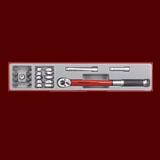 """TTX3892  22件組 3/8""""(三分)扭力扳手工具組"""